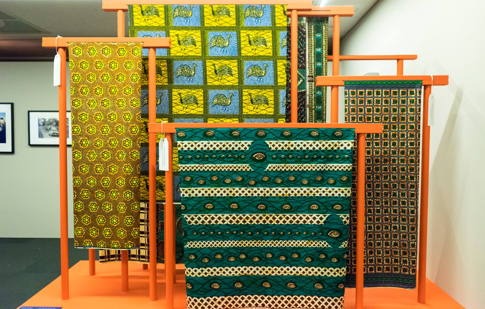 british library ghana exhibition fabrics